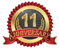 11th Anniversary Seal