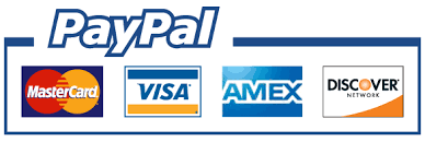 Use Paypal For MC, VISA, AMEX, DISCOVER
